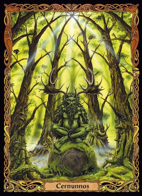 CERNNUNOS - THE GREEN MAN