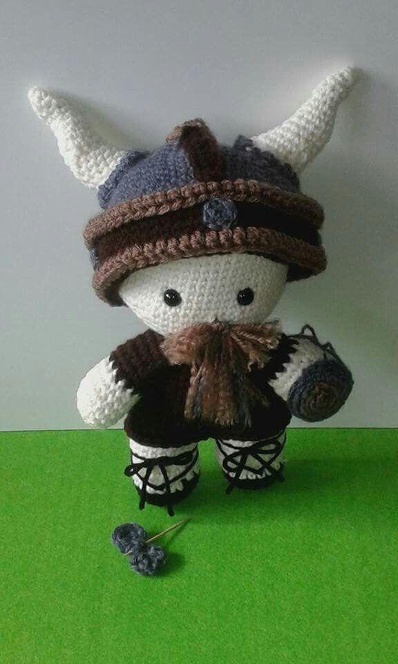 Amigurumi Wikinger : 1000+ Bilder zu Crochet - Amigurumi auf Pinterest Muster ...