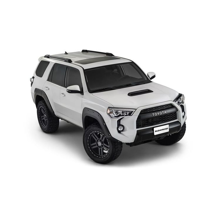 NEW: Pocket Style Fender Flares for the 2014-2016 Toyota 4Runner! Adds 1.5 inches of tire clearance. More info at Bushwacker.com. #Toyota #4runner #SUV #bushwacker #fenderflares #yota #4WD #4x4 #newproduct