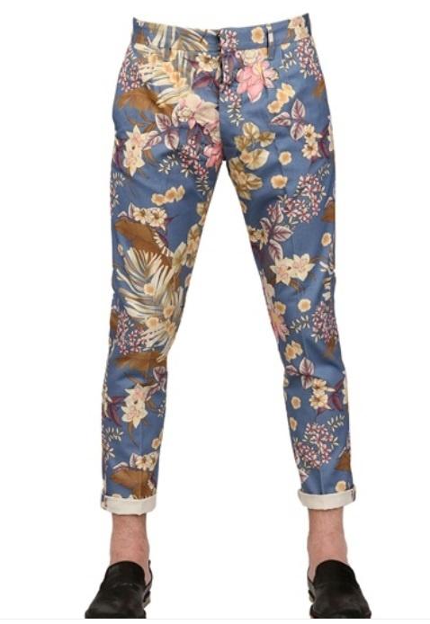 FORTELA printed pants
