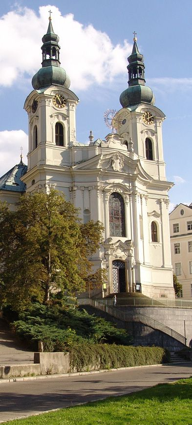 Church of St. Mary Magdalene in Karlovy Vary (West Bohemia), CZECHIA