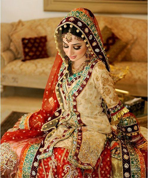 Pakistani bridal clothes