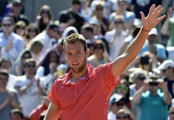 As Rafael Nadal Awaits, Jack Sock Hopes to Win a Battle of Forehands - NYTimes.com