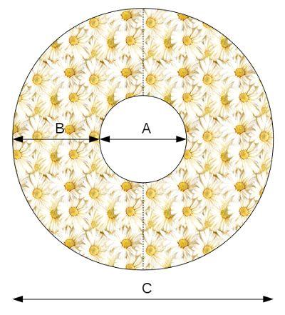 patroon cirkelrok