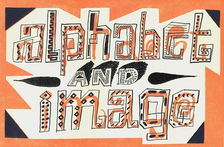 A visit with a graphic master way ahead of this time,FOR, the talented group of Hand Lettering artists that work at AG.I...