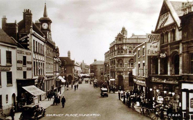 Many Years Ago in Nuneaton Town Centre, Warwickshire