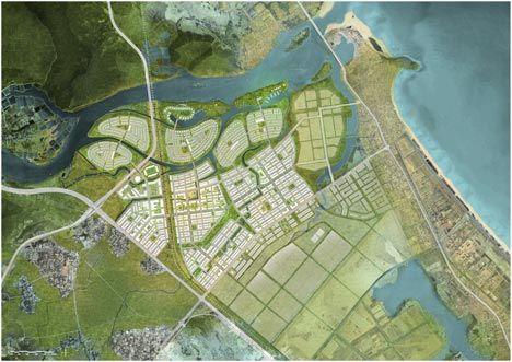 Golden Hills Masterplan    \ Danang, VN \ architects: SOM