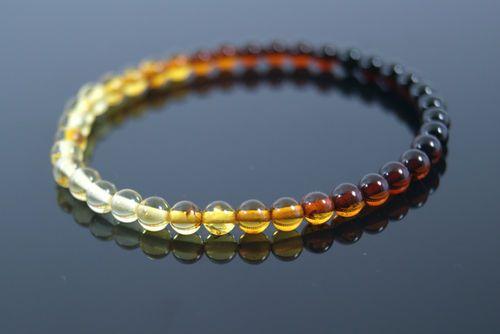 Pulsera elastica de ambar baltico ( amber baltic)