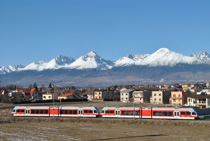Vysoke Tatry, Poprad, train station