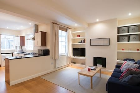 Check out this awesome listing on Airbnb: 2 bedroom flat in the heart of Chelsea - Apartments for Rent in London