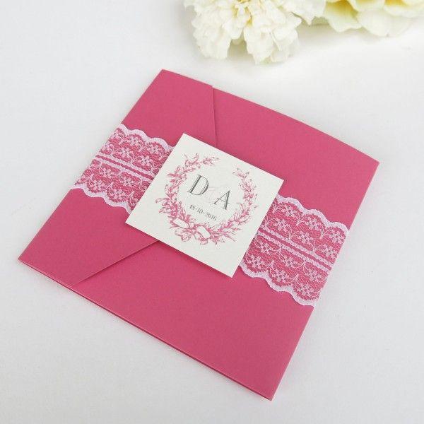Invitatie de nunta Perfect Paradise/Wedding invitation Pink