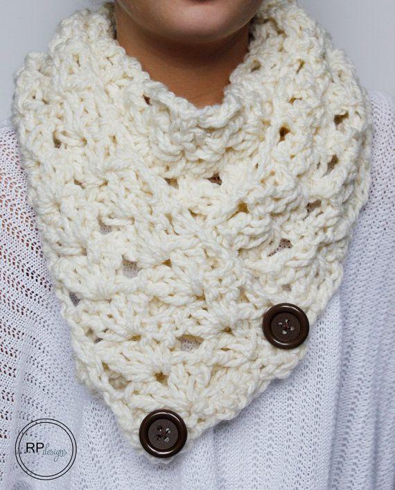 Mejores 91 imágenes de Crochet Scarves en Pinterest   Crochet ...