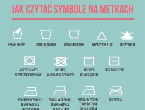 Jak czytać symbole na metkach