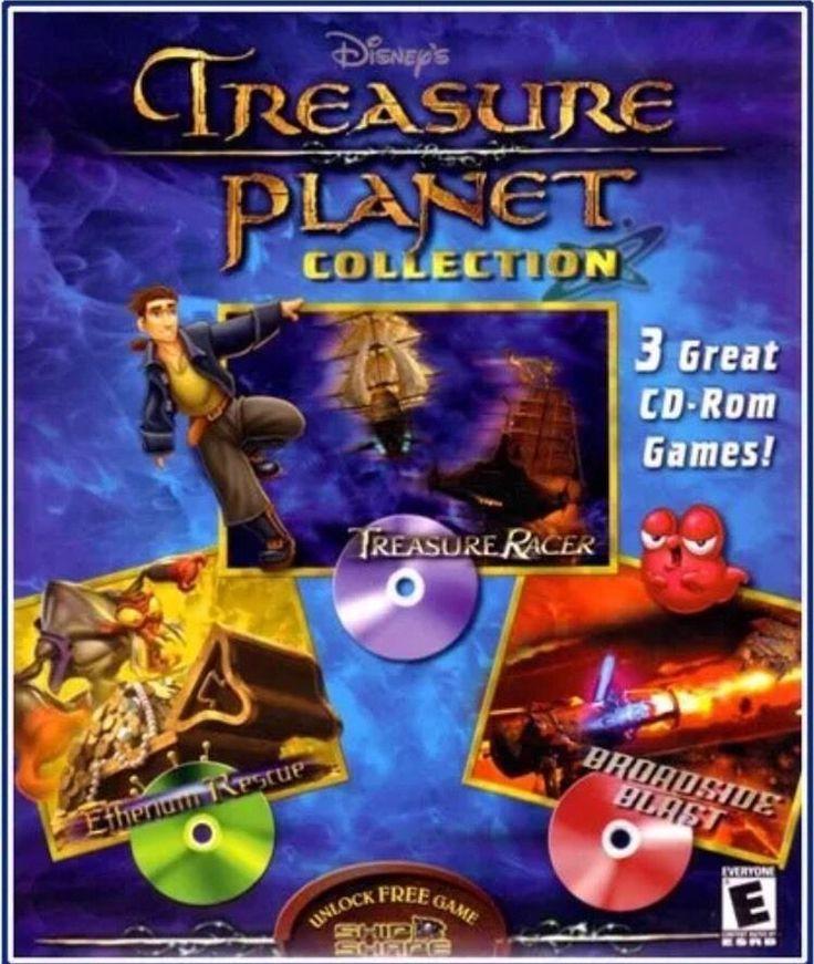 Disney's Treasure Planet Collection 3 CD-ROM Computer PC/ Macintosh Games NEW    eBay