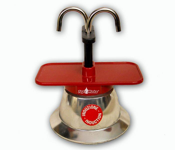 caffettiera induzione | Caffettiera espresso ad induzione (Mini02T-I Rosso) - Artigianato ...