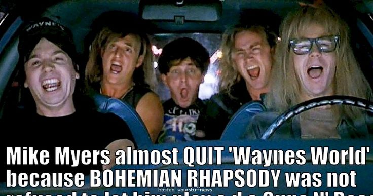 Surprising On Set Facts From Filming 'Wayne's World'