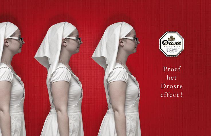 Droste campaign: Proef het Droste effect ! Huub van Osch #vOSCH #huubvanosch #blahblahism #amsterdam #Droste