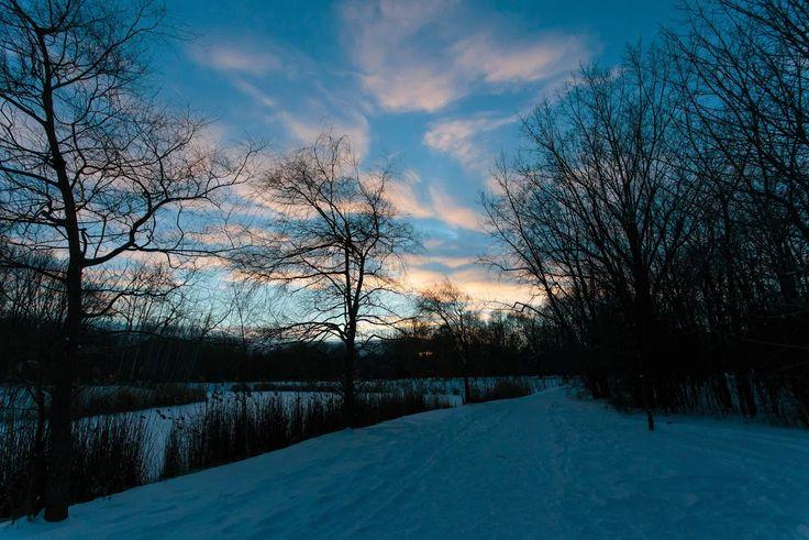 Foto: #Landscape #Clouds #Winter