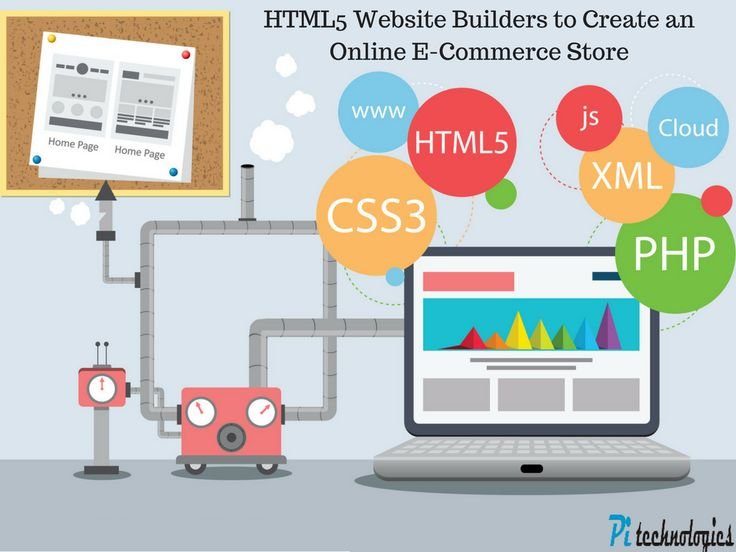 Create an eye-catching e-commerce website for your online shopping portal using these 3 most popular HTML5 website builders which offer all the necessary features at nominal charges.