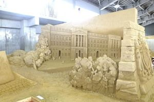 The Sand Museum in Tottori City Japan