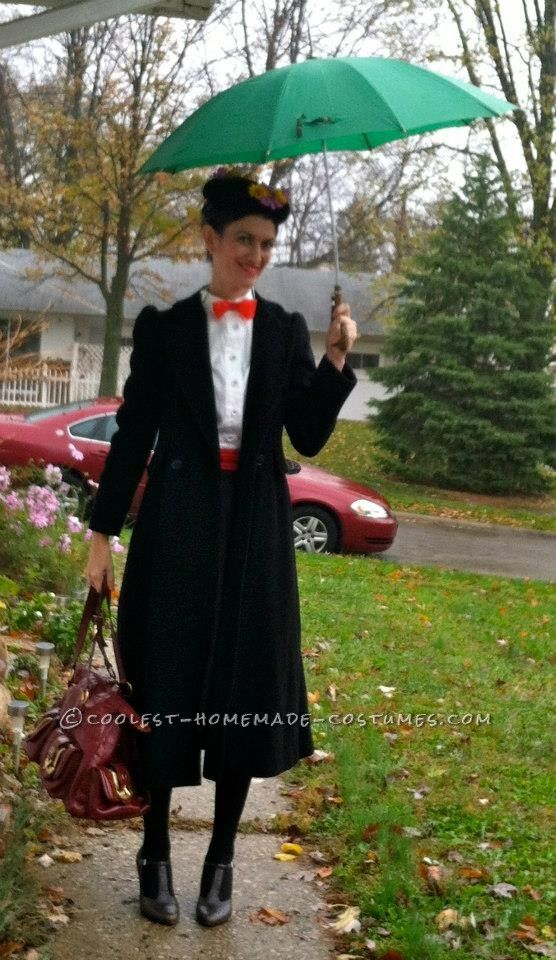 lastminute homemade mary poppins costume that didn�t