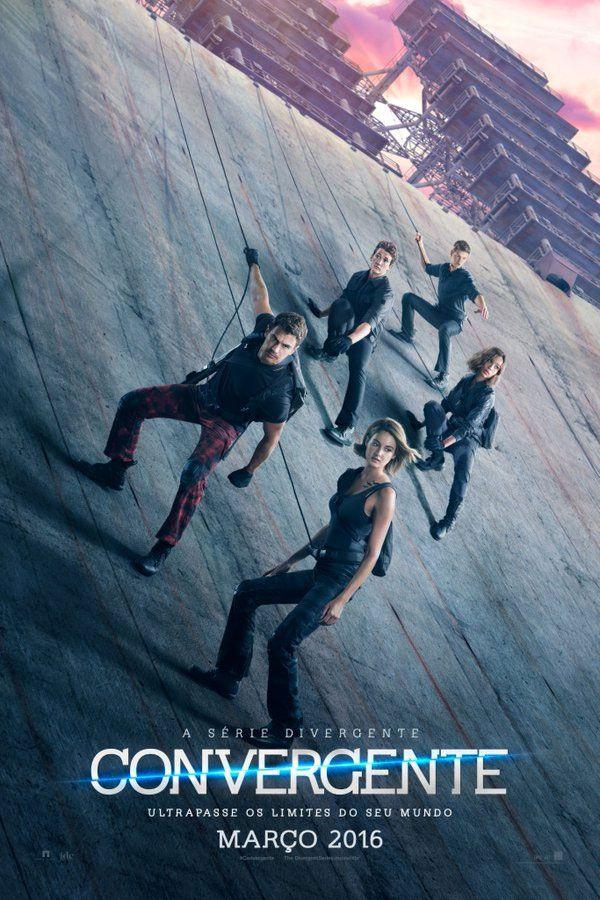 Trailer e pôsteres do filme 'A Série Divergente: Convergente'