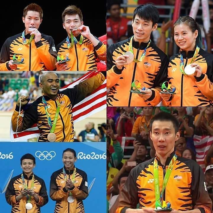 Thank you!!! All of you are #malaysianheroes... #olympics2016 #olympics #Rio #Malaysia