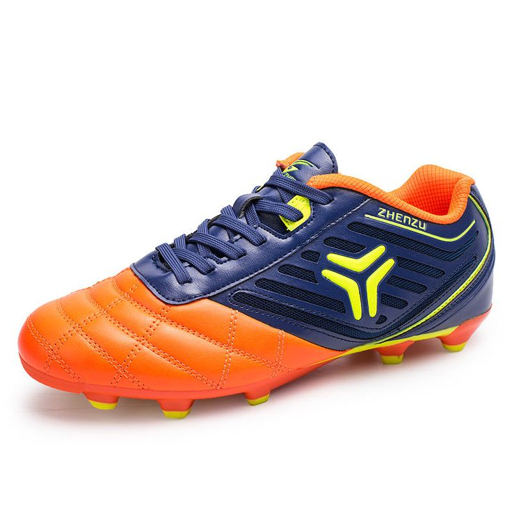 Breathable Men Soccer Shoes Kids Soccer Cleats Outdoor FG Football Boots Sneaker #Unbranded