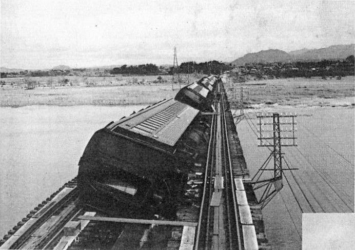 Setagawa bridge derailment - 日本の鉄道事故 (1949年以前) - Wikipedia