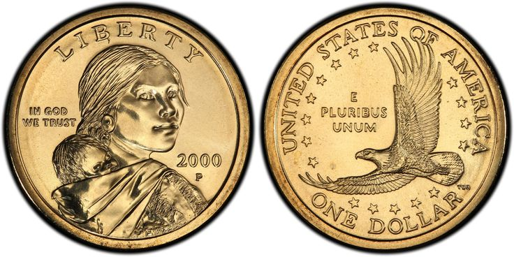 sacagawea dollar coin P 2000 - Google Search