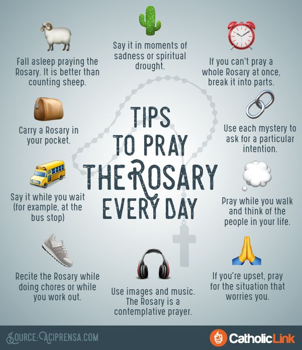 10 Simple Tips to Help You Pray the Rosary Every Day | ChurchPOP