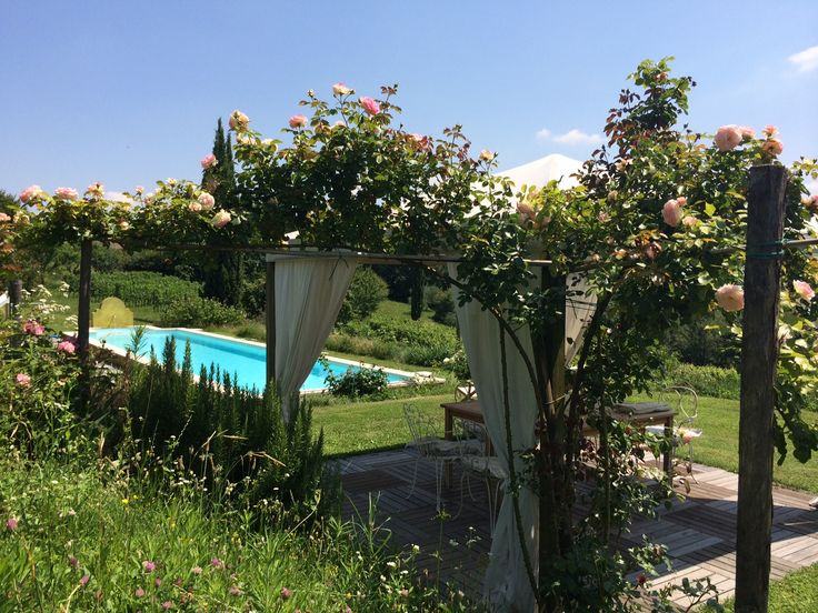 Soak up the tranquility in the rose gazebo. Take a walk to the local village and purchase some amazing local produce, cured meats, local cheeses, tomatoes, olives. A great afternoon of culinary culture surrounded by the stunning grounds of our historical farmhouse.