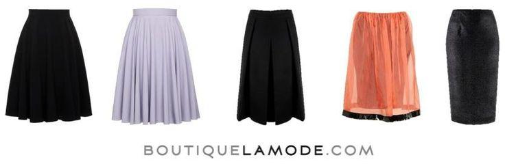 Dzień dobry! Dzisiejszy dzień rozpoczynamy od przeglądu spódnic typu midi.  #nacomaszochote http://boutiquelamode.com