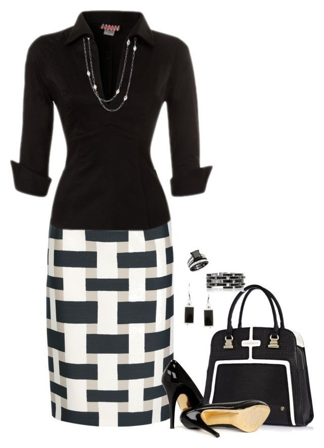 """""""Office Wear – 138"""" by anastasiabeaverhausenxo ❤ liked on Polyvore featuring Giambattista Valli, River Island, Ted Baker, Pinup Couture and David Yurman"""