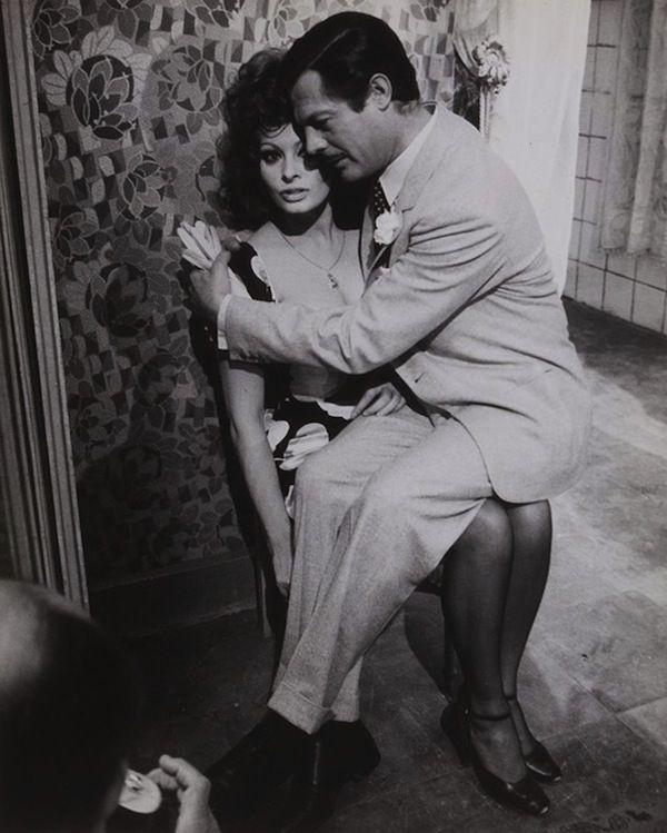 Sophia Loren & Marcello Mastroianni, Matrimonio all'italiana, 1964 (Pierluigi Praturlon)