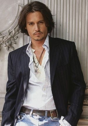 Johnny Depp...by far one of my favorite actors of all time. The man is sexy as hell, never ages, and plays every part impeccably. I ♡ him since 21 Jump St.