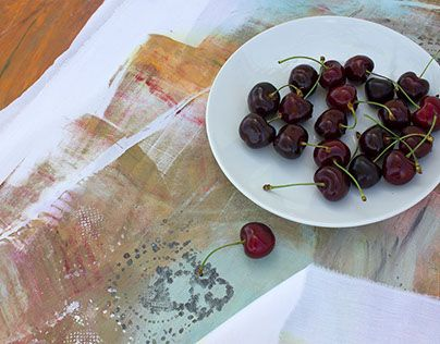 """Check out new work on my @Behance portfolio: """"flying table with cherries"""" http://be.net/gallery/41001895/flying-table-with-cherries"""