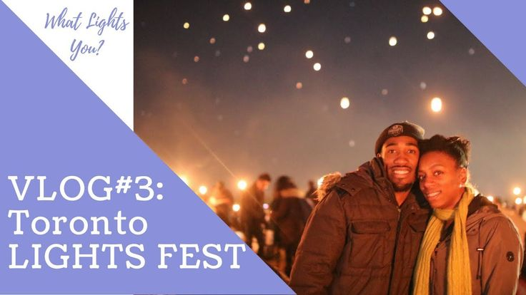 Vlog 3: WHAT LIGHTS YOU | LIGHTS FEST TORONTO 2017  For the first time ever, the Lights Fest organization held an event in the Toronto/Niagara region of Ontario, and of course Chantel had to live out her Disney fantasy (watch Tangled, then you'll get it lol). We almost didn't make it because we were both under the weather, but we are so glad we got to experience such a sight