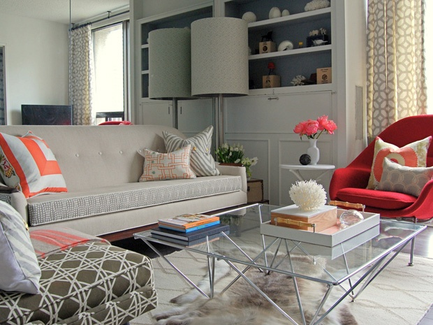 The Reveal DesignMazes Small Space Big Style Makeover Tim Lam A Toronto Design Enthusiast And Founder Of DesignMaze Interiors Has Given His Bold Condo