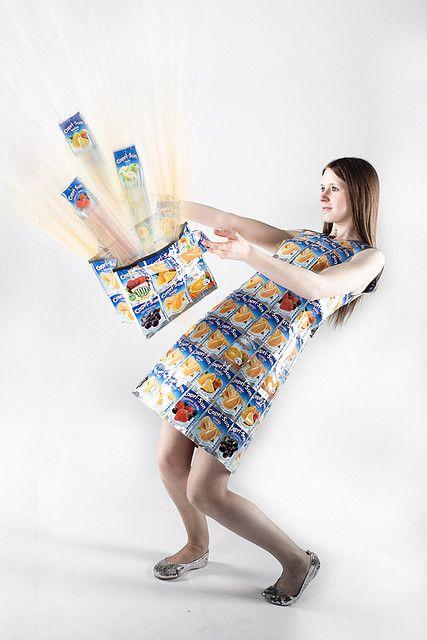 Tea bag maxi dress