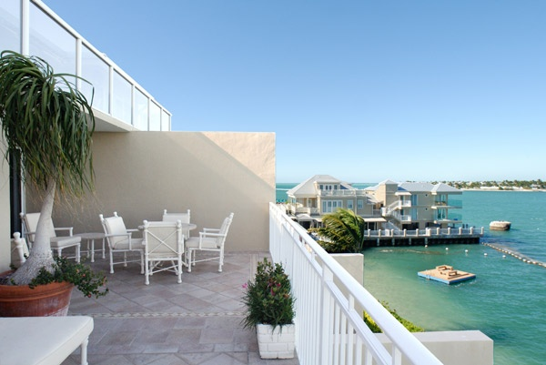 Balcony of the Hemingway Suite at Pier House Resort and