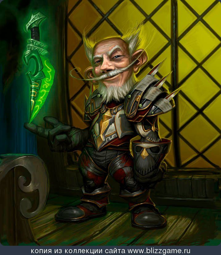 Quite possibly the best gnome rogue picture I've ever seen. Hazlow Mudshuggle by Matt Cavotta