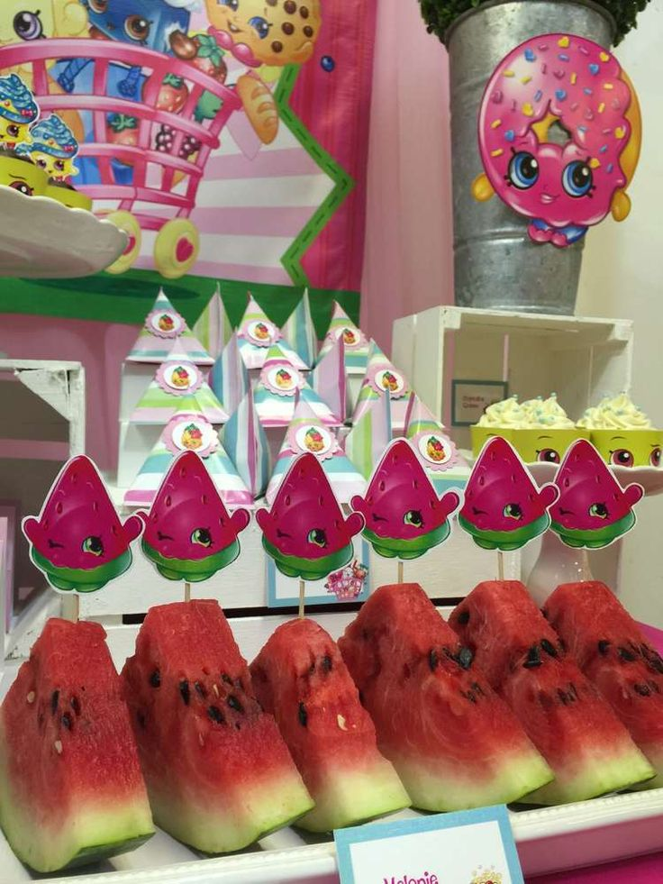 SHoPKINS  Birthday Party Ideas | Photo 2 of 18