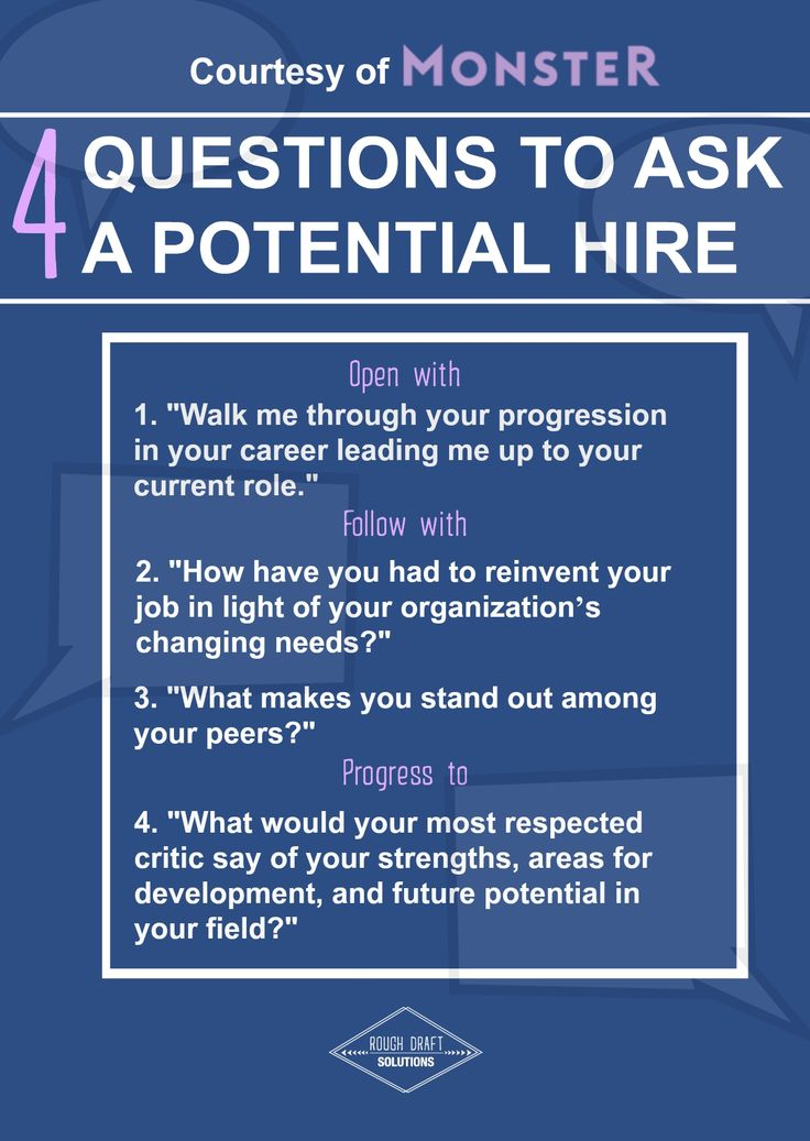 """Interviews are full of questions like """"Why are you interested in this position?"""" """"Where do you see yourself in ten years?"""" or """"Why did you leave your last place of work?"""" Yet, these questions don't allow you to really get to know someone. Swap out your boring questions for these ones!  Want to make sure you're hiring the right people for your business? Check out a few more of our tips here: http://www.roughdraftsolutions.com/blog/2015/8/7/how-to-hire-the-right-employees-101"""
