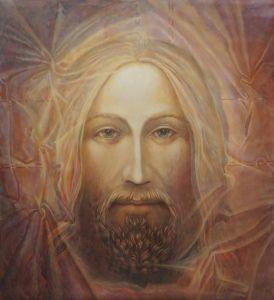 Catholic artist, Ann Chapin- radiant Christ 17