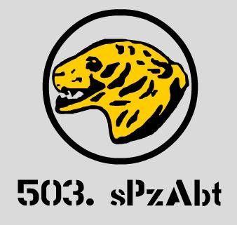Aufkleber 503. sPzAbt / mehr Infos auf: www.Guntia-Militaria-Shop.de