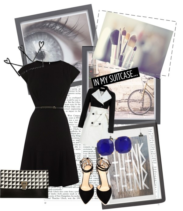 """Black & White"" by ailly87 on Polyvore"