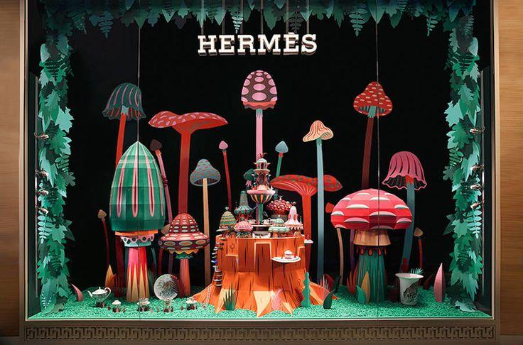 New Dubai Hermès Store Windows by Zim & Zou – Fubiz Media