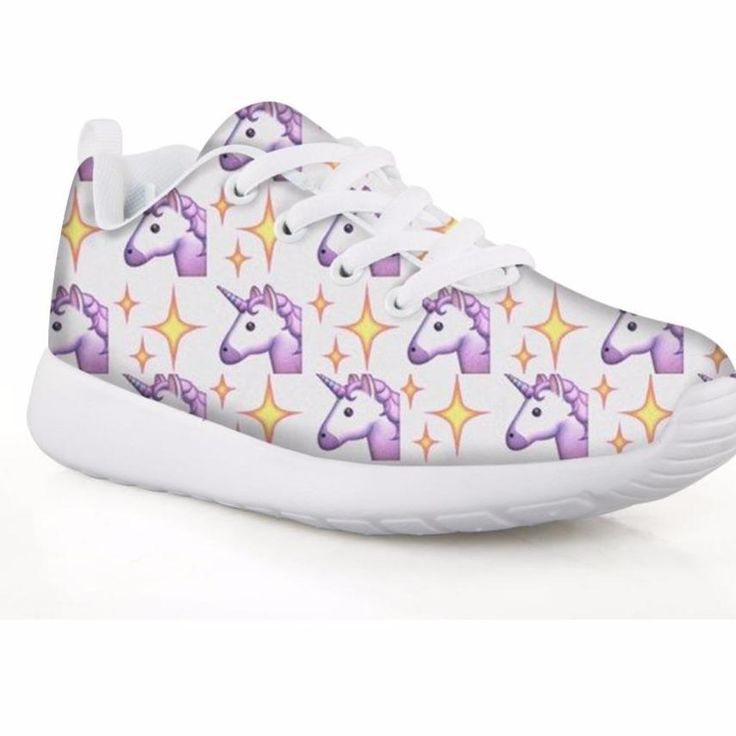 Unicorn Girls Rainbow Sneakers Sport Shoes- Printing Kids Football Shoes Lightweight Running Shoe 2018