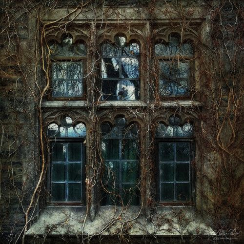Haunting window